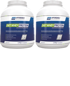 Affordable Specialised Nutrition - Diet Whey Protein - 2 x 5.02 lbs / 2.28 kg Tubs