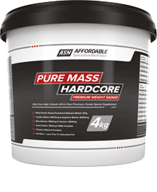Affordable Specialised Nutrition - Pure Mass Hardcore - 8.82 lbs / 4 kg Tub