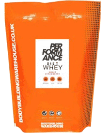 Bodybuilding Warehouse - Performance Diet Whey V2 - 2.2 lbs / 1 kg Bag