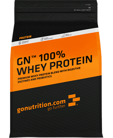 GoNutrition - GN 100% Whey Protein - 5.51 lbs / 2.5 kg Bag