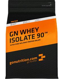 GoNutrition - GN Whey Isolate 90 - 2.2 lbs / 1 kg Bag