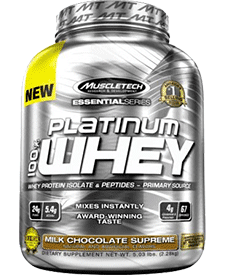 Muscletech - Platinum 100% Whey - 5.03 lbs / 2.28 kg Tub