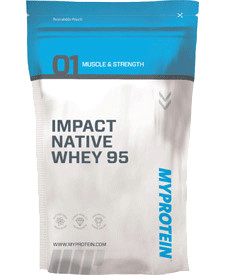 Myprotein - Impact Native Whey 95 - 5.51 lbs / 2.5 kg Bag