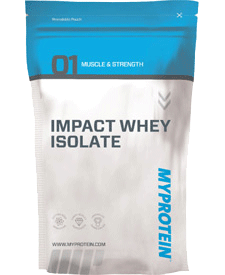 Myprotein - Impact Whey Isolate - 5.51 lbs / 2.5 kg Bag
