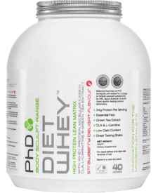 PhD Nutrition - Diet Whey - 4.41 lbs / 2 kg Tub