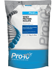 Pro-10 - Whey Protein Isolate - 2.2 lbs / 1 kg Bag