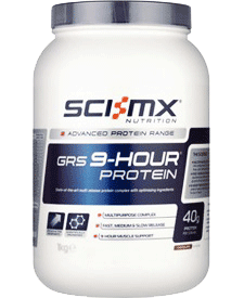 Sci-MX - GRS 9 Hour Protein - 2.2 lbs / 1 kg Tub