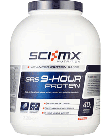 Sci-MX - GRS 9 Hour Protein - 5.03 lbs / 2.28 kg Tub