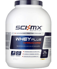 Sci-MX - Whey Plus Hardcore - 4.63 lbs / 2.1 kg Tub