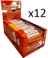 Bodybuilding Warehouse - Premium Protein Flapjacks - 12 x 24 x 75 g Bars