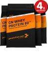 GoNutrition - GN Whey Protein 80 (4 Pack)
