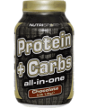 Nutrisport - Protein + Carbs All-in-One - 3.09 lbs / 1.4 kg Tub