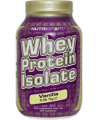 Nutrisport - Whey Protein Isolate - 2.2 lbs / 1 kg Tub