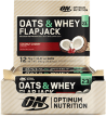 Optimum Nutrition - Oats & Whey Flapjack - 12 x 70 g Flapjacks